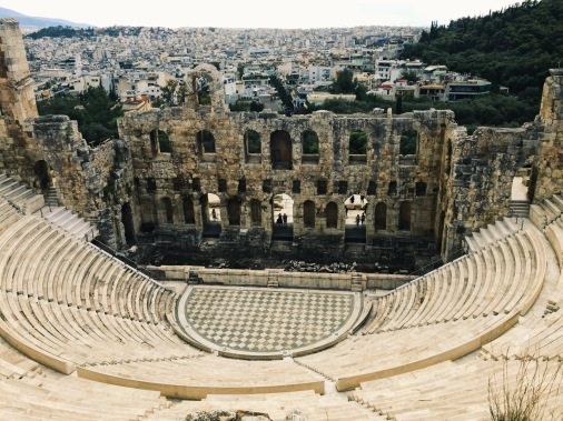 The faker (Odeon of Herodes Atticus).