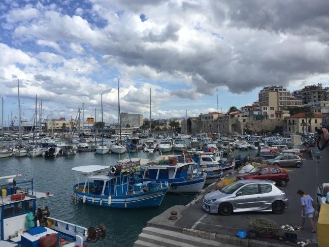 Definitely a port town!