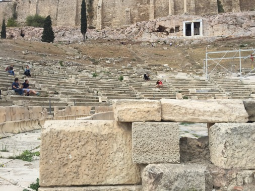 The real Theatre of Dionysus.