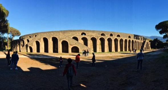 Pompeii's Amphitheatre.